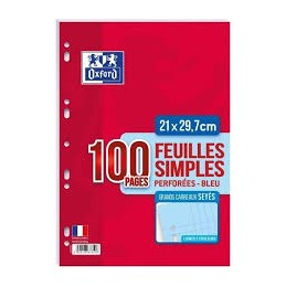 Oxford Feuille simple...