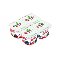 4x100g Fromage blanc aux...