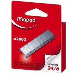 2000 agrafes 24/6 Maped