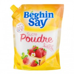 Beghin say sucre poudre 750g