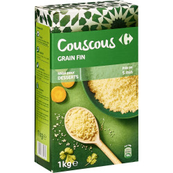 Couscous grain fin...