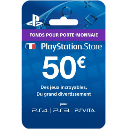 Code PlayStation Store 50€