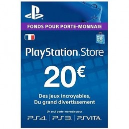 Code PlayStation Store 20€