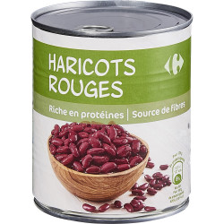 Haricots rouges CARREFOUR...