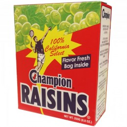 Champion Raisins 250g