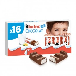 Barres Chocolatées Kinder...