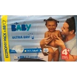 Carrefour Baby Ultra Dry 4+...