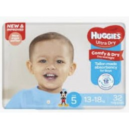 32 Couches Huggies Ultra...