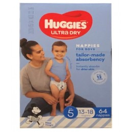 Huggies Utra Dry Taille 5...