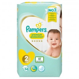 54 Couches Pampers Premium...