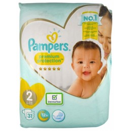 31 Couches Pampers Premium...