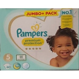 60 Couches Pampers Premium...