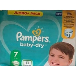 60 Couches Pampers Baby-dry...
