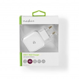 Chargeur Mural USB-C 18w Nedis