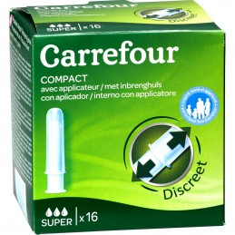 16 Tampons Compact Avec...
