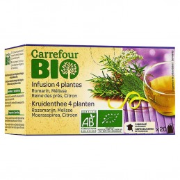 Infusion 4 plantes...