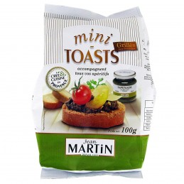 Jean Martin Mini toasts...