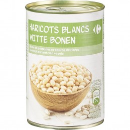 CARREFOUR haricots blancs...