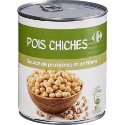 Pois chiches Carrefour - 530 g