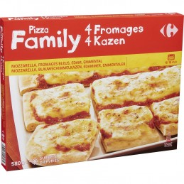 Pizza 4 Fromages 580g