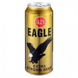 Bière Extra strong Eagle...