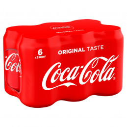 COCA-COLA soda 6x355ml