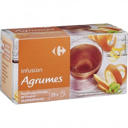 Infusion agrumes CARREFOUR...