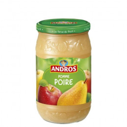 Compote pomme-poire ANDROS...