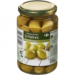 Carrefour Olives vertes...