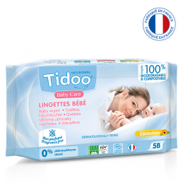 Lingettes Baby Care TIDOO...