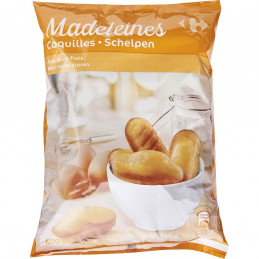 Madeleines coquilles...