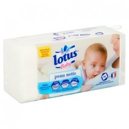 Cotons Lotus Baby peau...