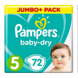 Jumbo+Pack Pampers baby dry...