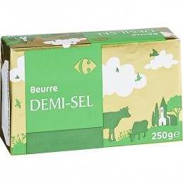 Beurre Demi-Sel Carrefour 250g