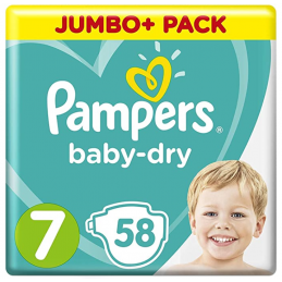 Lot de 58 Couches Pampers...