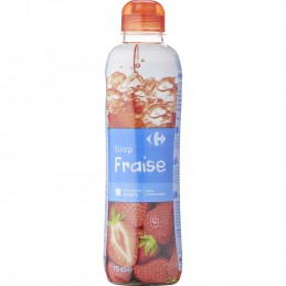 Sirop fraise Carrefour 75cl