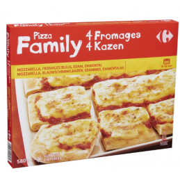 ✱ Pizza Family 4 Fromages...