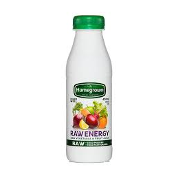 Jus Homegrown RAW ENERGY 400ml