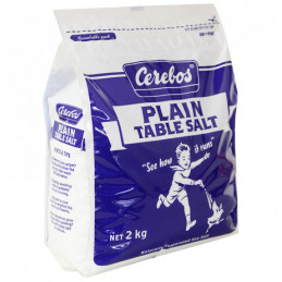 CEREBOS Plain Table Salt 2kg