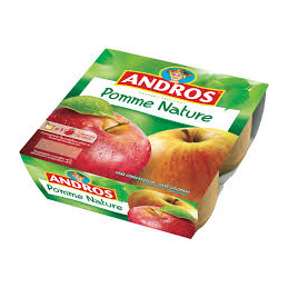 Pomme Nature Andros 4x100g