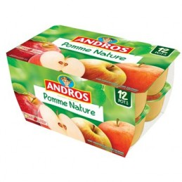 Pomme Nature Andros 12x100g