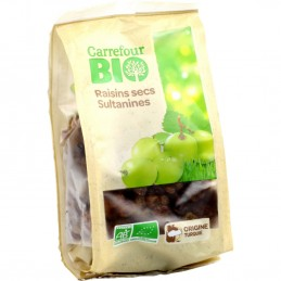 Carrefour Bio raisins secs...