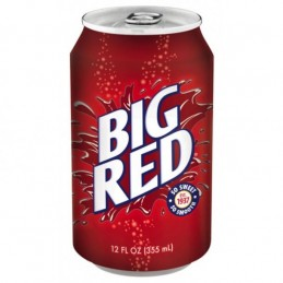 Soda Américain Big Red-355ml
