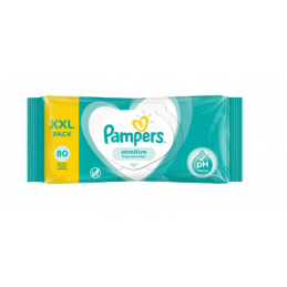 Lingettes Sensitive Pampers...