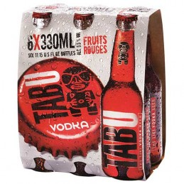 Biéres Tabu Vodka-6x330ml