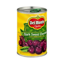 Delmonte sweet cherries 425g