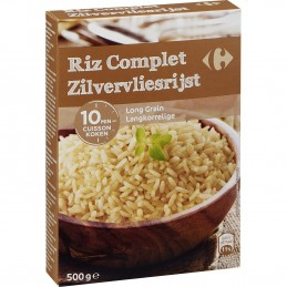 Riz long grain complet...