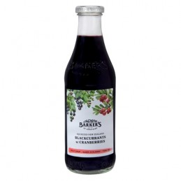 Sirop Cassis Canneberges...