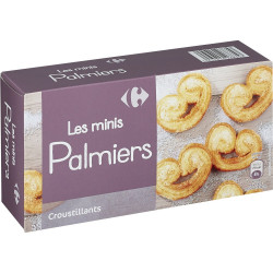 Biscuits minis palmiers...