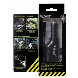 KeyQuest Chargeur voiture...